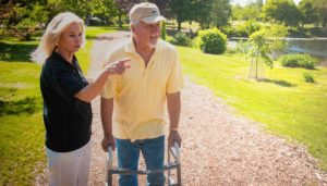Aishling Companion Home Care Worker Helping Client